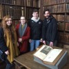 Students tour of Cambridge University Colleges includes Shakespeare's First Folio