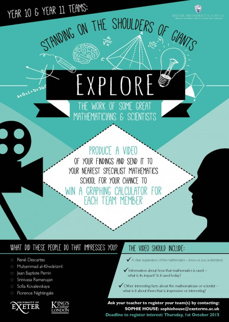 King's-Exeter Video Competition - Poster 2015
